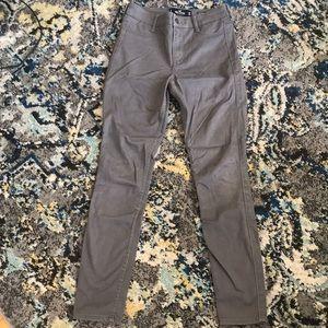 gray Hollister pants
